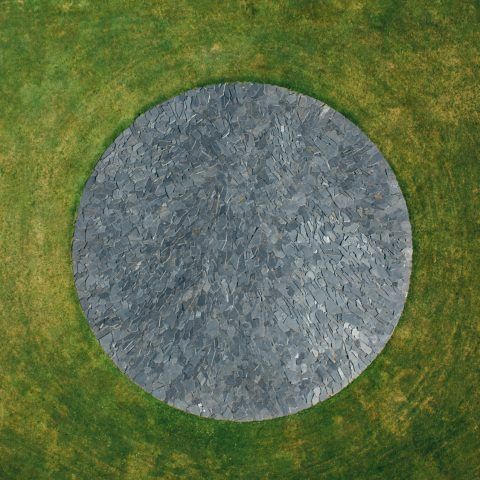 Richard Long – Full Moon Circle