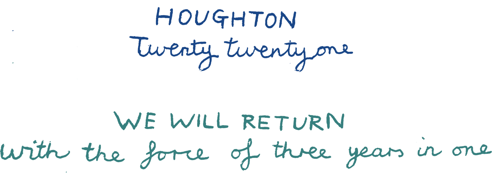 Houghton 2021